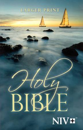 Holy Bible NIV Larger Print (Brossura)