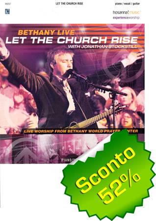 Let the church rise Songbook (Brossura)