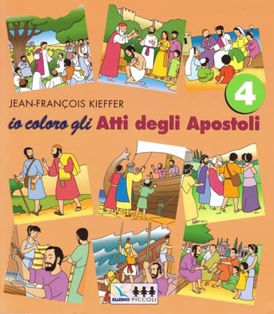 Io coloro gli Atti degli Apostoli - 4 (Spillato)