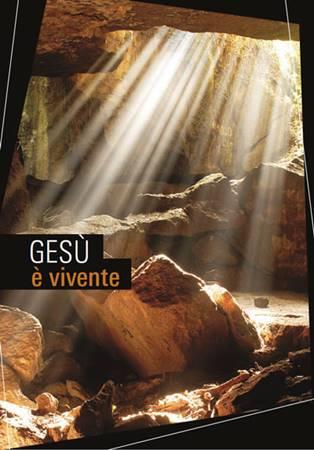 Gesù è vivente - 200 opuscoli (Pieghevole)