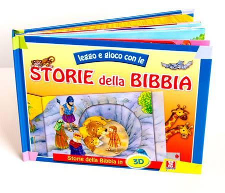 Leggo e gioco con le storie della Bibbia (Copertina rigida)