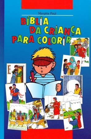 Biblia da criança para colorir - Bibbia da colorare per bambini in portoghese (Brossura)