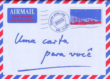 Una lettera per lei in Portoghese - Opuscolo Evangelizzazione (Spillato)