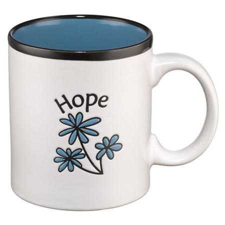 Tazza Hope Blu (Scatola)