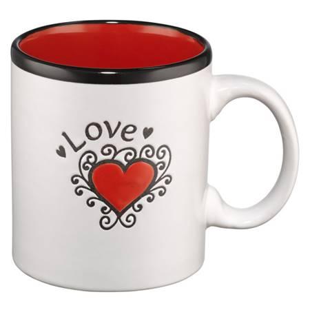 Tazza Love Rossa (Scatola)