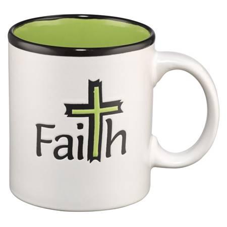Tazza Faith Verde (Scatola)