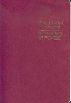Le Nouveau Testament les Psaumes & les Proverbes - 11606 (SG11606) (Brossura)