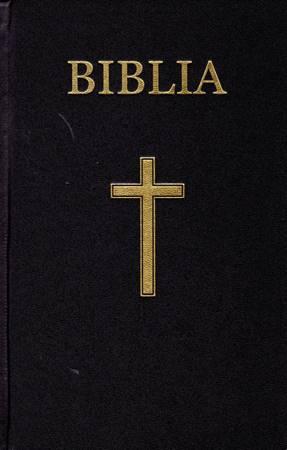 Bibbia in Rumeno Tascabile Nera in PVC o Rigida
