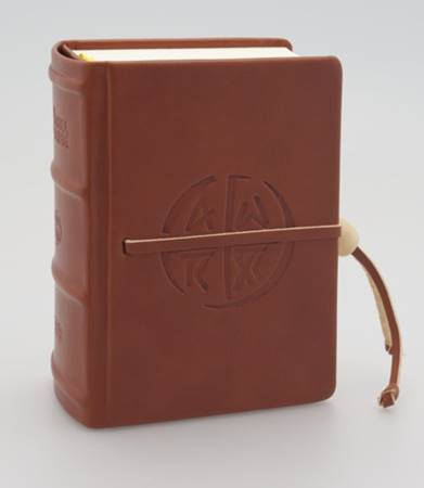 La Bibbia di Gerusalemme tascabile in pelle con rilievi (Pelle)