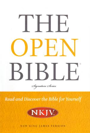 The Open Bible Signature Series NKJV (Copertina rigida)