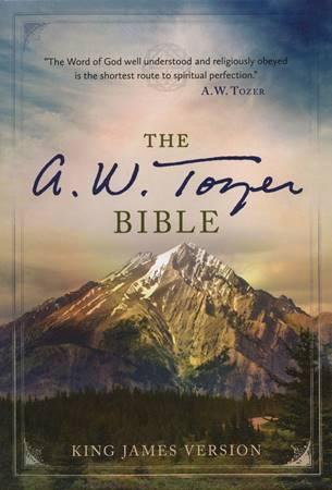 The A. W. Tozer Bible: KJV Version, Flexisoft leather, Black (Pelle)