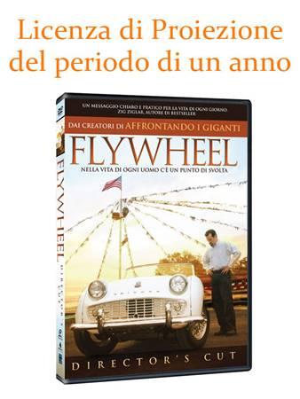 """Licenza di Proiezione del Film """"Flywheel"""" della durata di 1 Anno e Proiezioni Illimitate"""