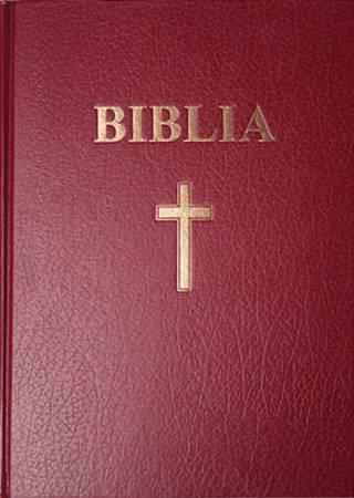 Bibbia in rumeno da pulpito - Biblia format foarte mare coperta roşie (Copertina rigida)