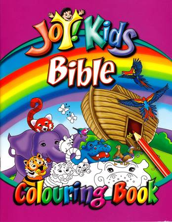 Joy Kids Bible Colouring Book (Spillato)