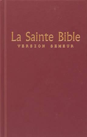 La Saint Bible Version Semeur - Bibbia in francese Rigida Rossa