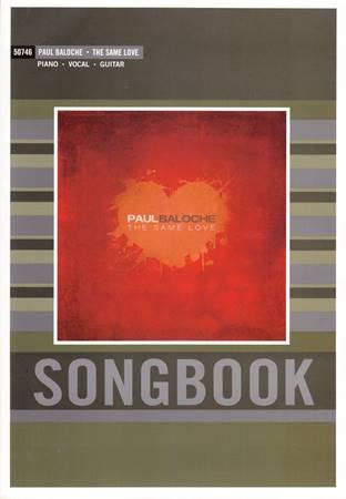 The same love Songbook - Spartiti