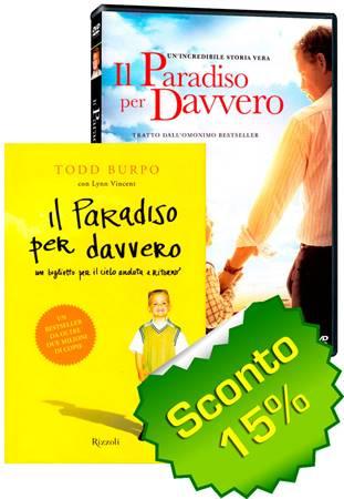 Offerta Il Paradiso per davvero DVD + Libro