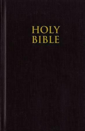 NIV Pew Bible - Black (Copertina Rigida) [Bibbia Media]