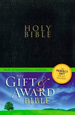 Holy Bible NIV Gift & Avard Color Black (Similpelle) [Bibbia Media]