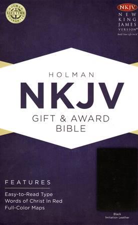 NKJV Gift & Award Bible Black (Brossura)