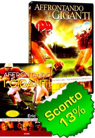 Offerta Affrontando i giganti DVD + Libro [DVD+Libro]