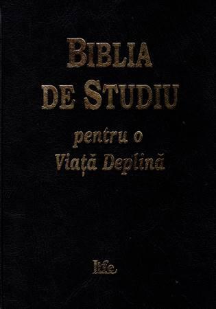 Bibbia da studio in lingua Rumena (Copertina Rigida) [Bibbia Media]
