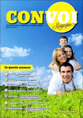 Rivista Con voi Magazine - Giugno 2015 (Spillato)