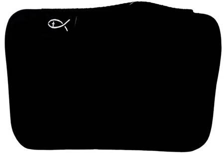 Copribibbia in tessuto colore nero formato Grande