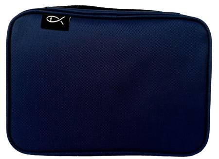 Copribibbia in tessuto colore blu formato Medio (Stoffa)