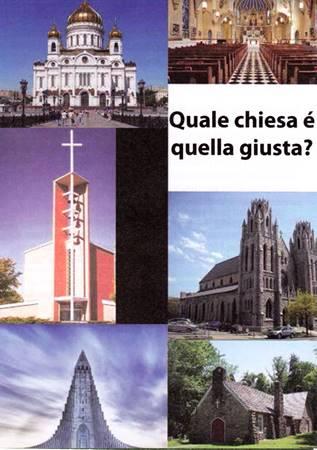 Quale chiesa è quella giusta? - Confezione da 250 opuscoli (Pieghevole)