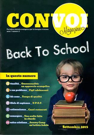 Rivista Con voi Magazine - Settembre 2015 (Spillato)