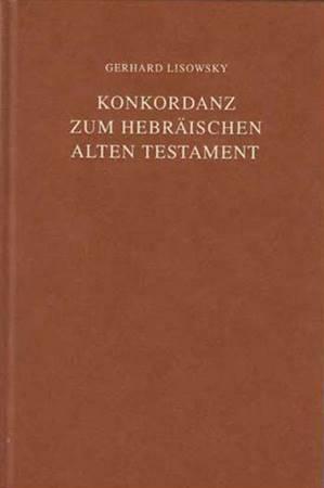 Concordanza ebraica dell'Antico Testamento (Copertina rigida)