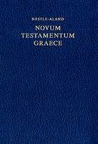 Novum Testamentum Graece - Nuovo Testamento Greco Nestle Aland Edizione 27 (COD. 5100) (Copertina rigida)