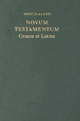 Novum Testamentum Graece et Latine - Nuovo Testamento Greco e Latino (COD. 5401) (Copertina rigida)