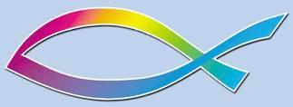 Adesivo Pesce Arcobaleno Design (A1049)