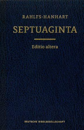 Septuaginta (LXX) (A cura di A. Raheles)