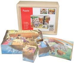 Puzzle a cubi