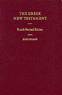 The Greek New Testament - Con dizionario greco inglese (2060)