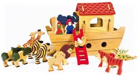 Arca di Noè in legno da costruire (A1375)