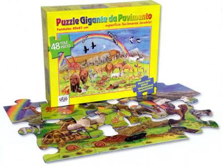 Puzzle gigante da pavimento
