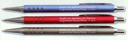 A1266 - Penna in metallo colorato