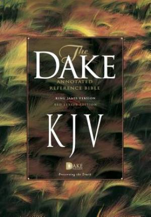 KJV Dake Annotated Reference Bible (Brossura)