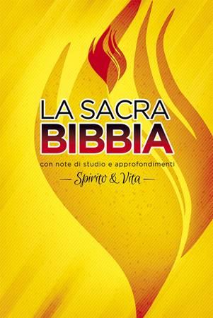 Bibbia da studio Spirito & Vita Cartonata a Colori