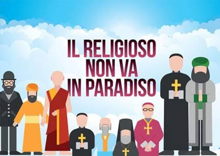 Il religioso non va in Paradiso - Confezione da 200 copie (Volantino)