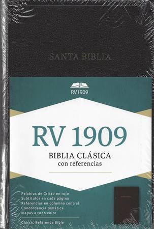 Biblia Clásica con Referencias RV1909 (Similpelle)