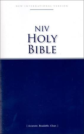 NIV Economy Bible (Brossura)