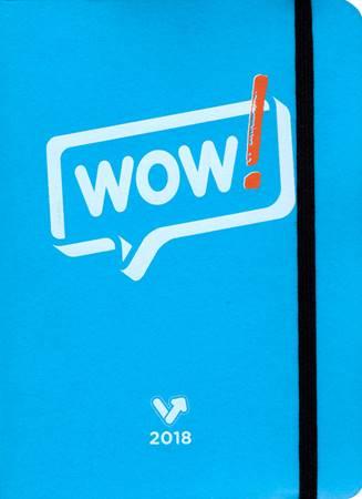SvoltAgenda Wow! - Colore Azzurro (Copertina soft con elastico)