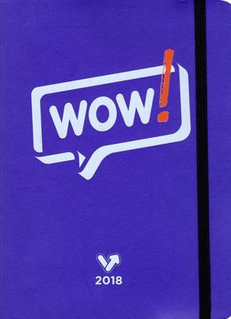 SvoltAgenda Wow! - Colore Viola (Copertina soft con elastico)