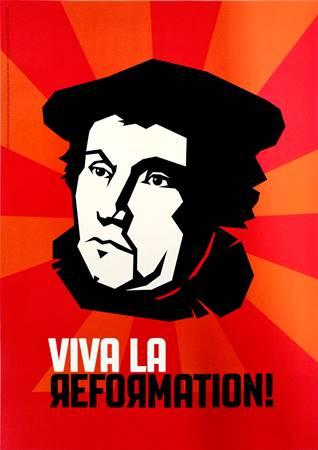"""Poster """"Viva la Reformation"""""""