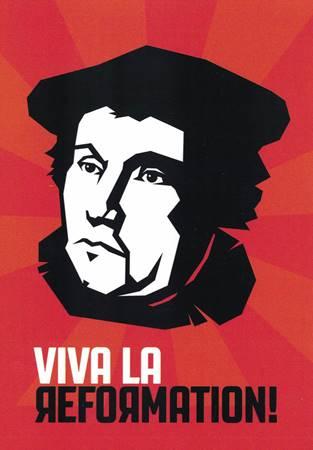 """Kit di 10 cartoline """"Viva la Reformation"""""""